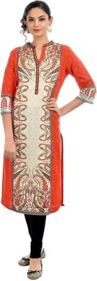 AVStyle Casual Embroidered Women's Kurti