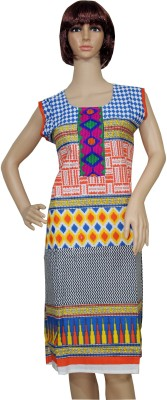 Sarva Printed, Embroidered Women's Straight Kurta