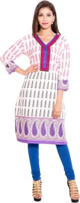 Veera Designers Printed Women's Straight Kurta