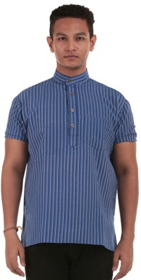 The G Street Printed Men's Straight Kurta