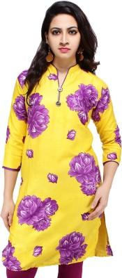 Sarva Floral Print Women's Straight Kurta