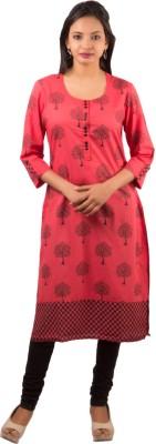 Piya Bawari Printed Women's Straight Kurta
