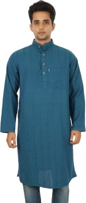 Dzayr Self Design Men's A-line Kurta