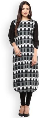 Nayo Checkered Women's Straight Kurta