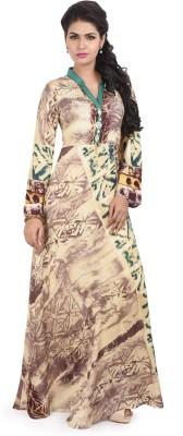Resham Dori Printed Women's Flared Kurta