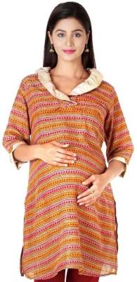 Morph Maternity Solid Women's A-line Kurta