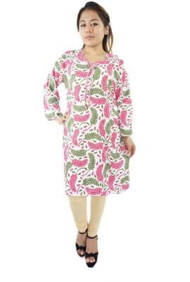 ShopMore Printed Women's Straight Kurta