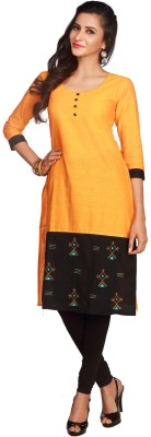 Maybell Embroidered, Self Design Women's Straight Kurta
