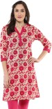 Jaipur Kurti Embroidered Women's Straigh...