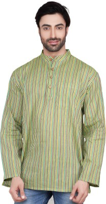 Ecostyle Striped Men's Straight Kurta