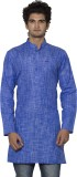 Nauhwar Self Design Men's A-line Kurta (...