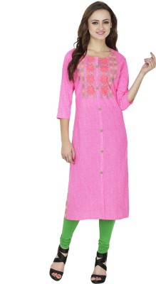 Dee's By Dashmesh Woven Women's Straight Kurta