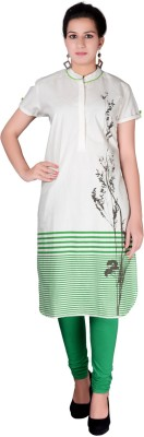iCRAFTIC Self Design Women's Straight Kurta