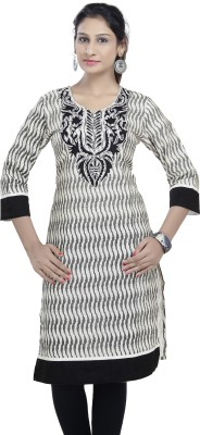 SHES Embroidered Women's A-line Kurta
