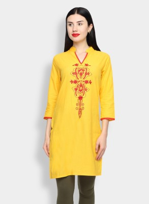 Diva Embroidered Women,s Straight Kurta