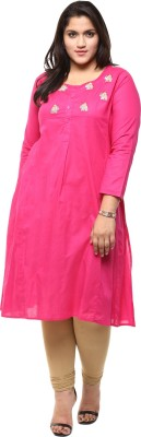 Love More Embroidered Women's Anarkali Kurta