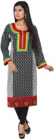 Belle Printed Womens Anarkali Kurta(Multicolor)