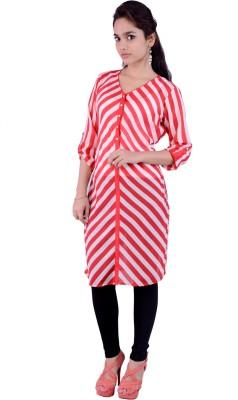 Pure Nautanki Striped Women's A-line Kurta
