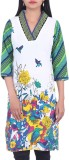 BleuIndus Printed, Embroidered Women's A...