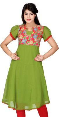 Lifestyle Retail Self Design Women's Anarkali Kurta