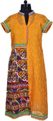 Radhika Goyal Embroidered Women's A-line Kurta