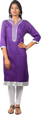 SBS Solid Women's Straight Kurta