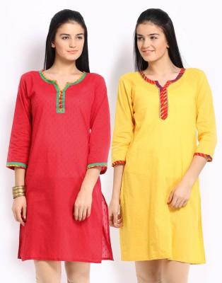 Jaipur Kurti Solid Women's Straight Kurta