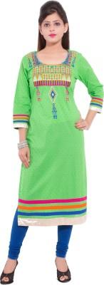 R D Traditionals Printed Women's Straight Kurta