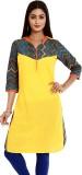 Aaboli Self Design Women's Straight Kurt...