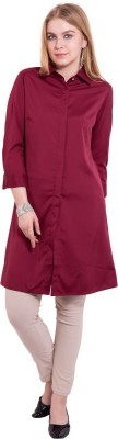 TightHugs Solid Women's A-line Kurta