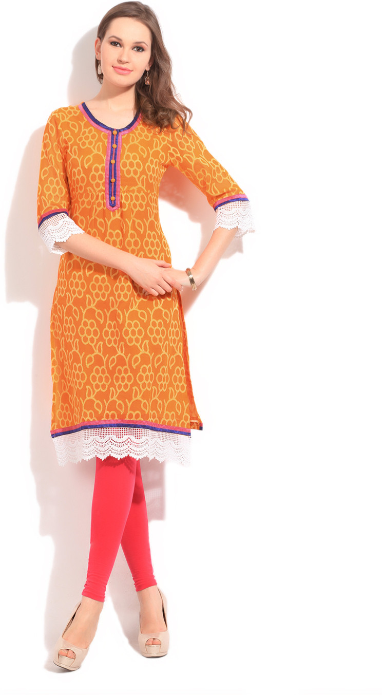 Ishwar Womens Wear Self Design Womens Kurta
