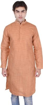 Kalrav Self Design Men,s Straight Kurta
