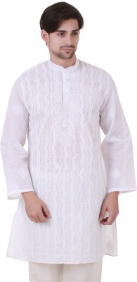 Masha Embroidered Men's Straight Kurta