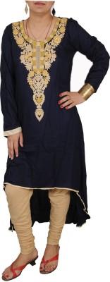 Aditi Fashions Embroidered Women,s Flared Kurta