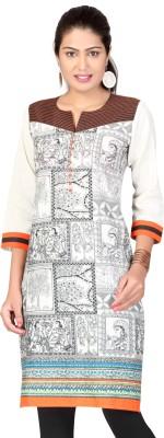 Lifestyle Retail Printed Women's Straight Kurta