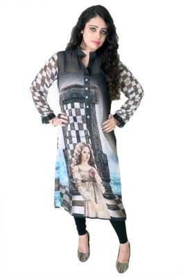 Embellish outfits Graphic Print Women's Straight Kurta