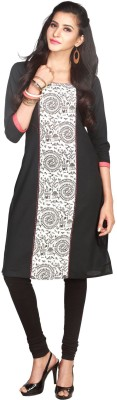 Maybell Printed, Embroidered Women's Straight Kurta
