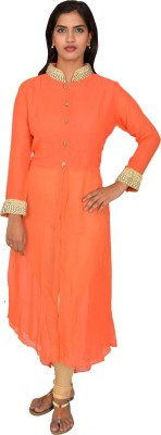 Selectives Embellished Women's Flared Kurta
