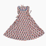 Buttercups Floral Print Girls Flared Kur...
