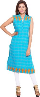 Kanika Creations Checkered Women's Straight Kurta