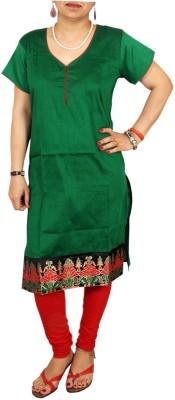 Aditi Fashions Solid Women,s A-line Kurta