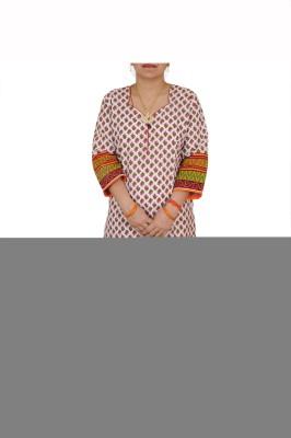 Aditi Fashions Checkered Women,s Straight Kurta