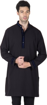 Roar and Growl Striped Men's Straight Kurta