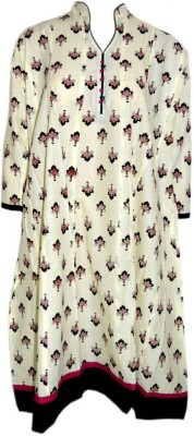 Parrie collections Printed Women's Flared Kurta