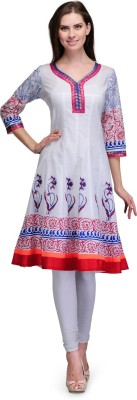 7Soft Colors Self Design Women's Anarkali Kurta