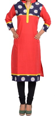 Sale Mantra Floral Print Women's Straight Kurta
