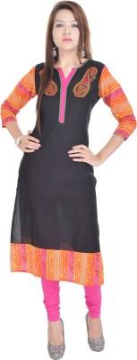 Rangeelo Rajasthan Embroidered Women's Straight Kurta