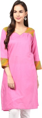 Design House Self Design Women's A-line Kurta