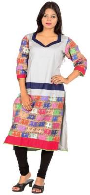 Fatfatiya Self Design Women's Straight Kurta