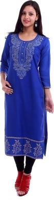 Inara Robes Embroidered Women's Straight Kurta
